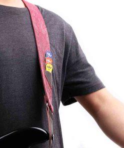 Sangle guitare Vintage jean