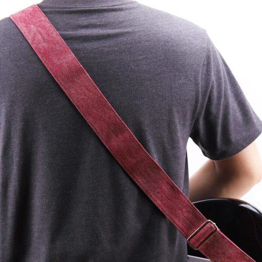 Sangle guitare Vintage jean dos