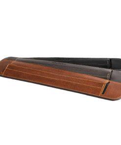 Bandoulière pour sangle de guitare en cuir rembourrée 3 coloris