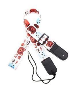 Sangle guitare enfant polyester pour ukulélé animaux