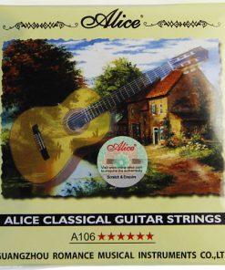 Cordes de guitare classique en nylon transparent